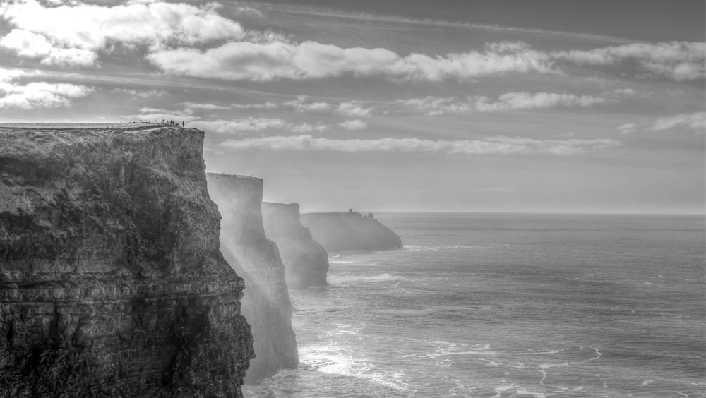 Print click to view walking the cliffs of moher by ivan vidal palmer wall canvas from €20